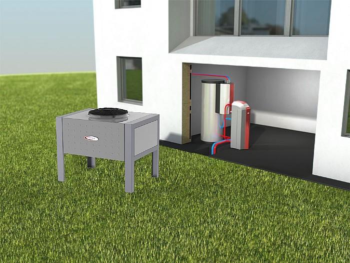 luftw rmepumpe m hlbacher w rmepumpen. Black Bedroom Furniture Sets. Home Design Ideas